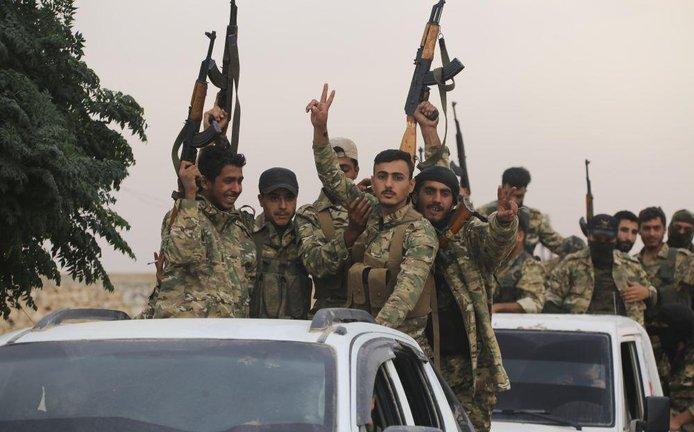 Turecká invaze do Sýrie, ilustrační foto