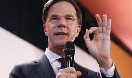 Nizozemský premiér a vítěz voleb Mark Rutte