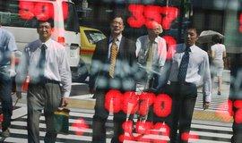 Japonský finanční sektor, ilustrační foto