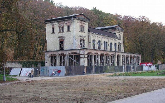 Šlechtova restaurace v pražské Stromovce, archivní foto