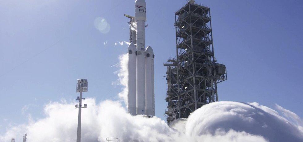 Start rakety od SpaceX