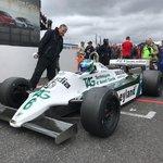 Mostecký vítěz, vůz Williams FW07C.