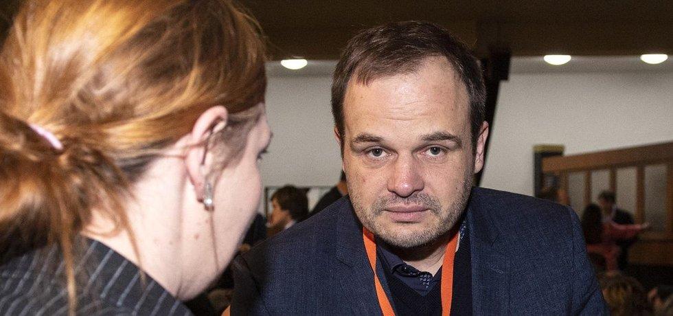 Kandidát na ministra kultury Michal Šmarda