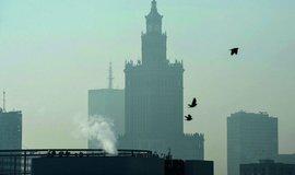 Smog ve Varšavě, ilustrační foto