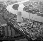 Výstavba elektrárny Mülheim-Kärlich v roce 1979.