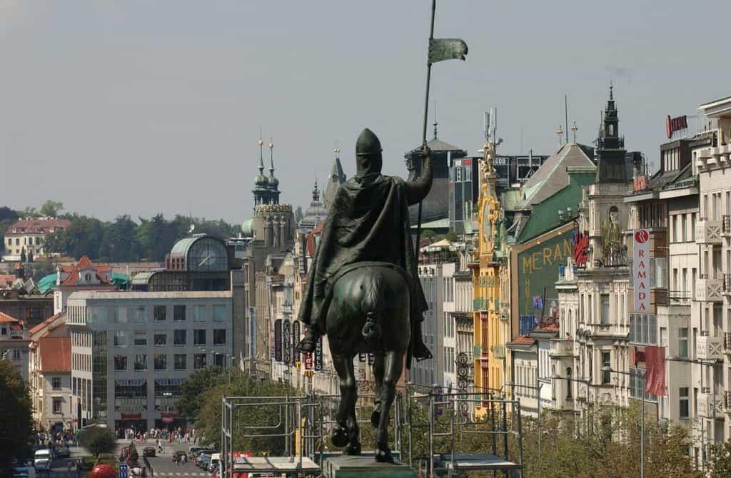 Václavské náměstí, ilustrační foto