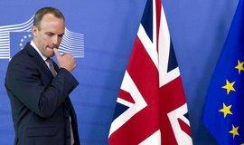 Britský ministr pro brexit Dominic Raab