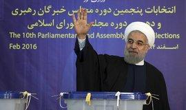 Íránský prezident Hasan Rúhání, archivní foto