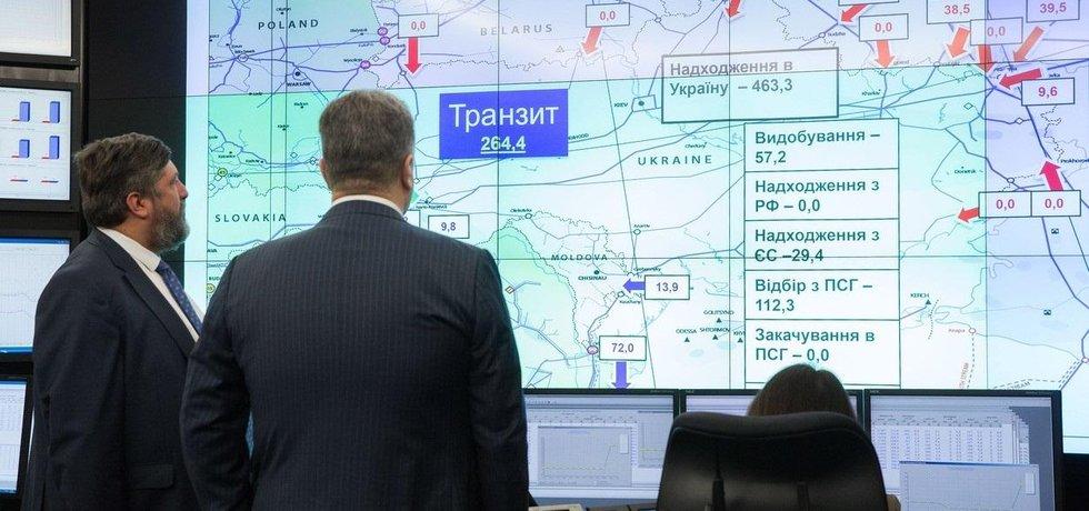 Tranzit zemního plynu přes Ukrajinu, ilustrační foto