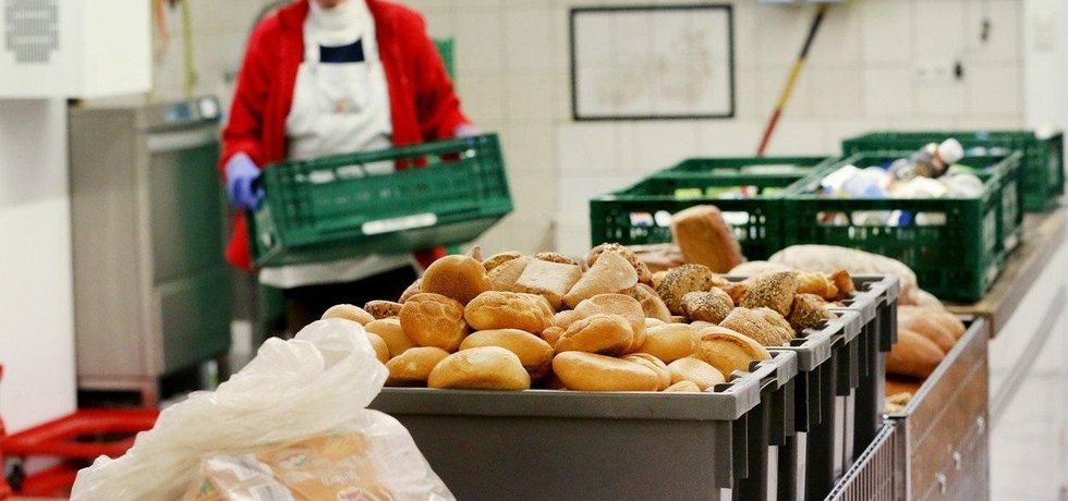 Potravinová pomoc v Essenu, ilustrační foto
