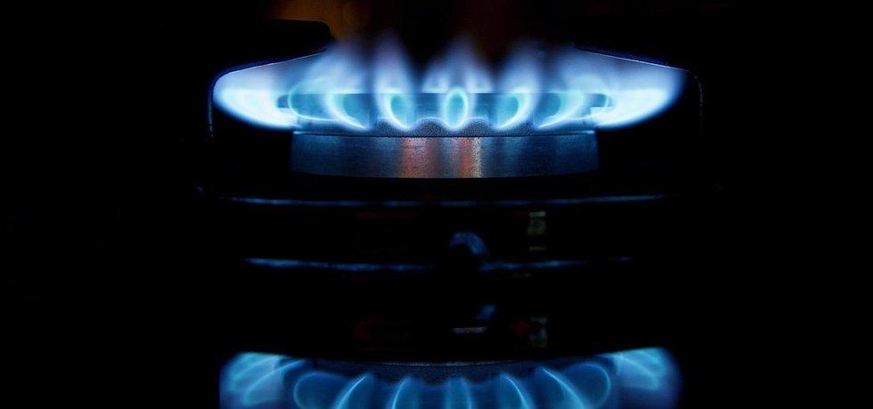 Plynový sporák, ilustrační foto
