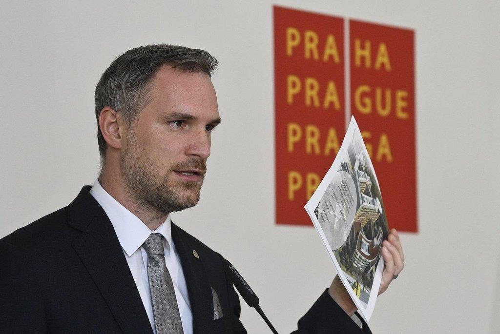 Pražský primátor Zdeněk Hřib (Piráti)