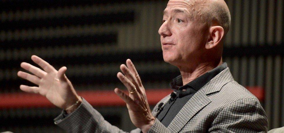 Zakladatel Amazonu a nejbohatší člověk na světě Jeff Bezos