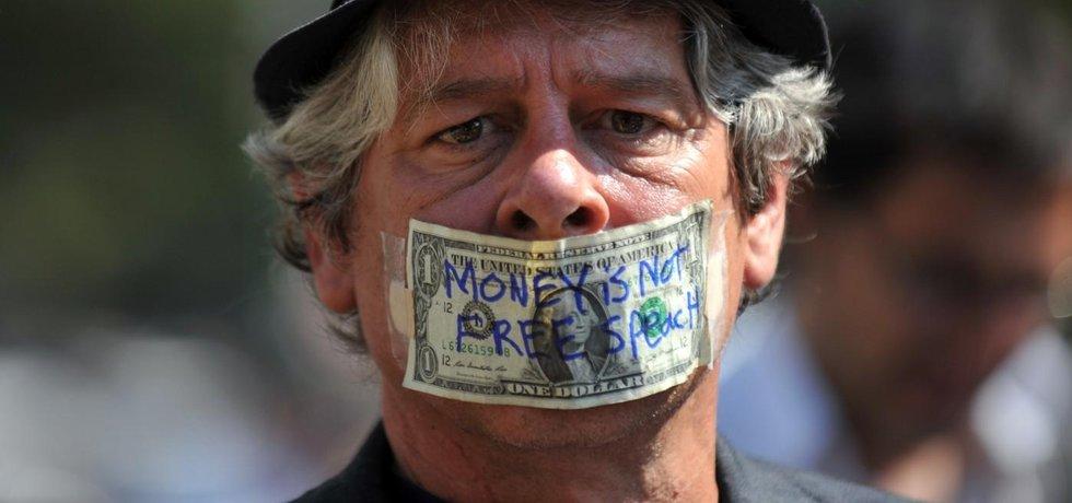 Hnutí Occupy Wall Street (Zdroj: profimedia.cz)