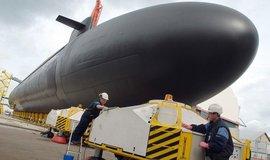 Stavba francouzské ponorky, ilustrační foto