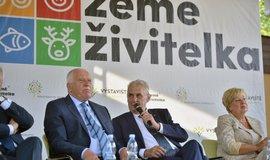 Miloš Zeman po boku svého podporovatele a ideového spřízněnce Václava Klause
