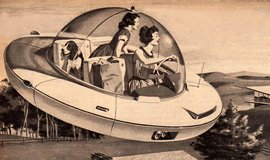 Dobová vize auta budoucnosti