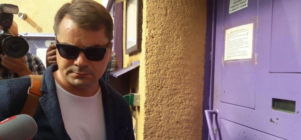 Marek Dalík při nástupu do vězení. (Zdroj: čtk)