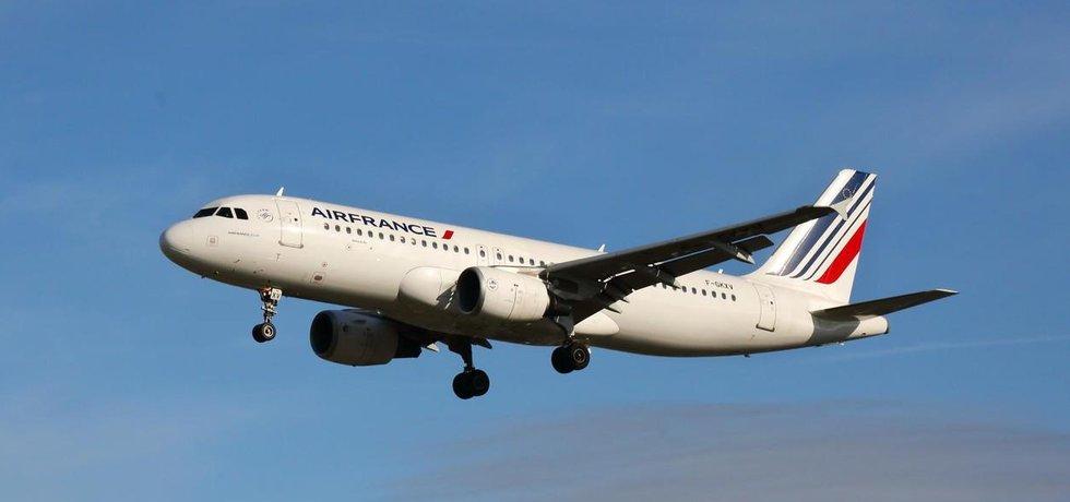Dopravní letadlo společnosti Air France