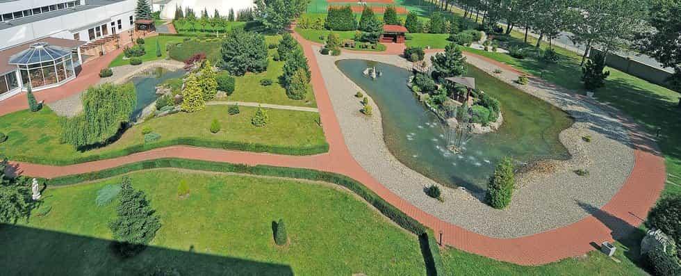 Japonská zahrada panorama