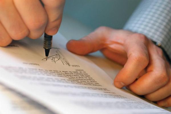 podpis, dokumenty