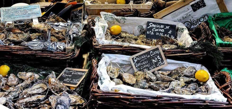 Ústřice ve Francii stojí zlomek ceny v Česku