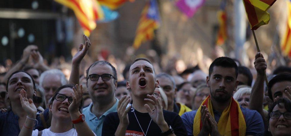V Katalánsku se konají demonstrace