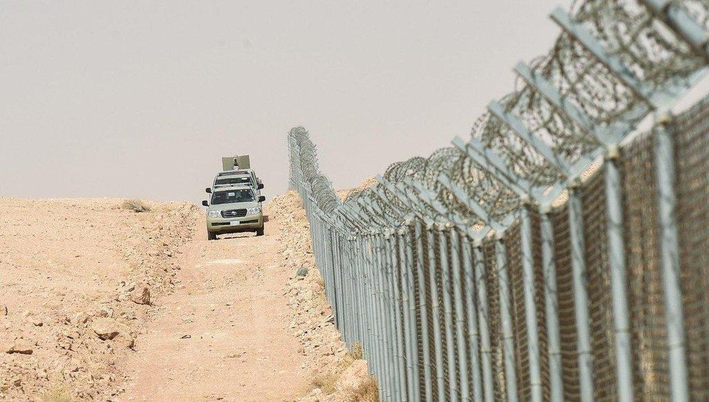 Technologie pro plot mezi Irákem a Saúdskou Arábií dodává firma Airbus.