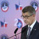 Premiér Andrej Babiš při projevu na bezpečnostní konferenci při příležitosti 20. výročí vstupu České republiky do NATO