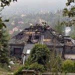 Požár někdejší Krejčířovy vily
