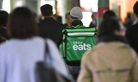 Uber Eats v Japonsku, ilustrační foto