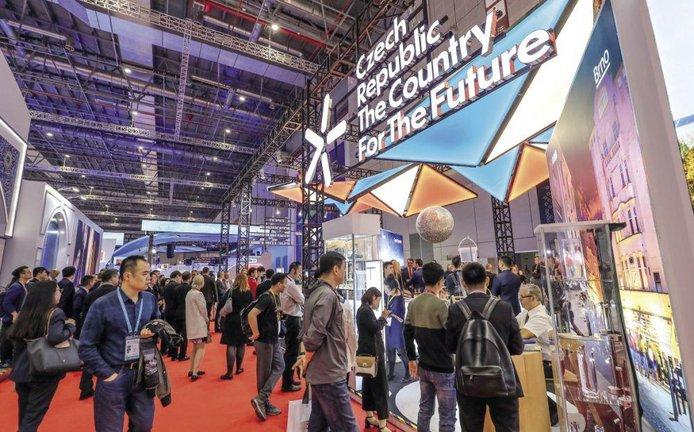 Česká národní expozice na ploše 256 metrů se zaměřila především na inovace a moderní technologie v duchu konceptu Czech Republic: The Country For The Future