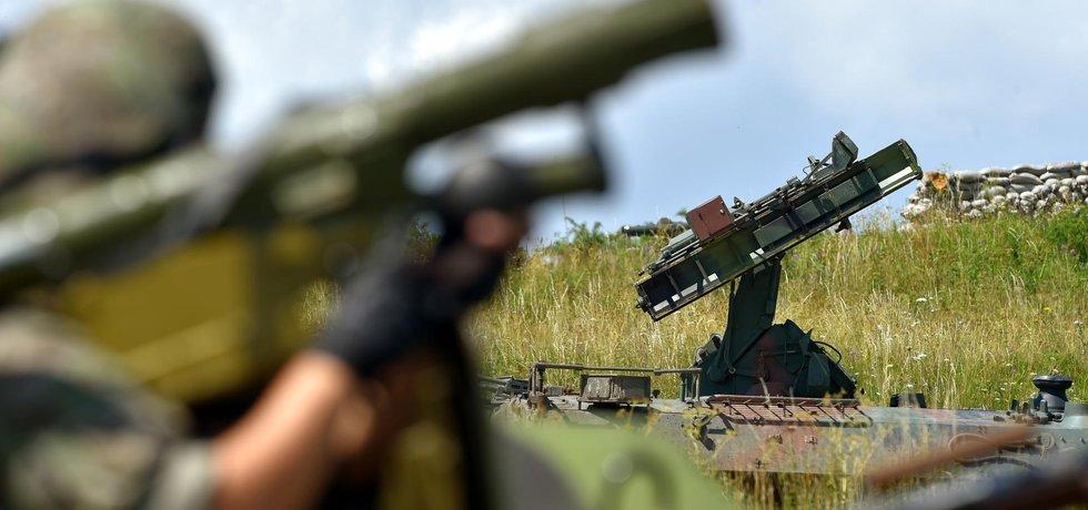 Strakoničtí vojáci se systémem S10M