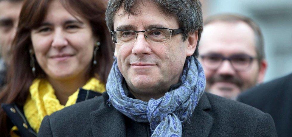 Bývalý katalánský premiér Carles Puigdemont
