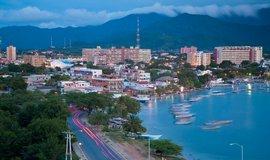 Karibský ostrov Margarita, Venezuela.