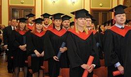 Slavnostní promoce absolventů studia MBA v pražském Rudolfinu