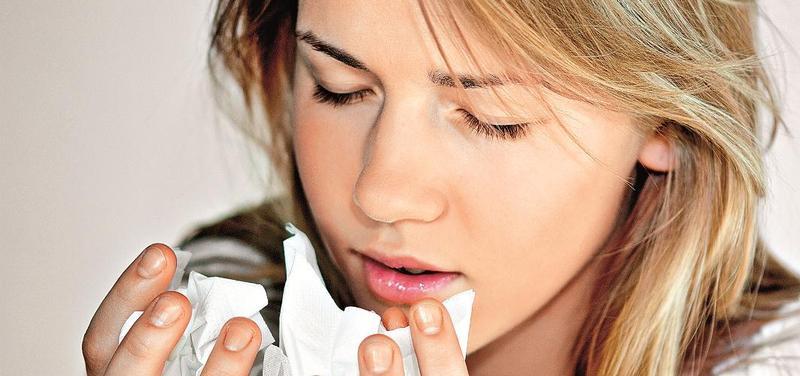 *alergie, rýma, chřipka, nemoc