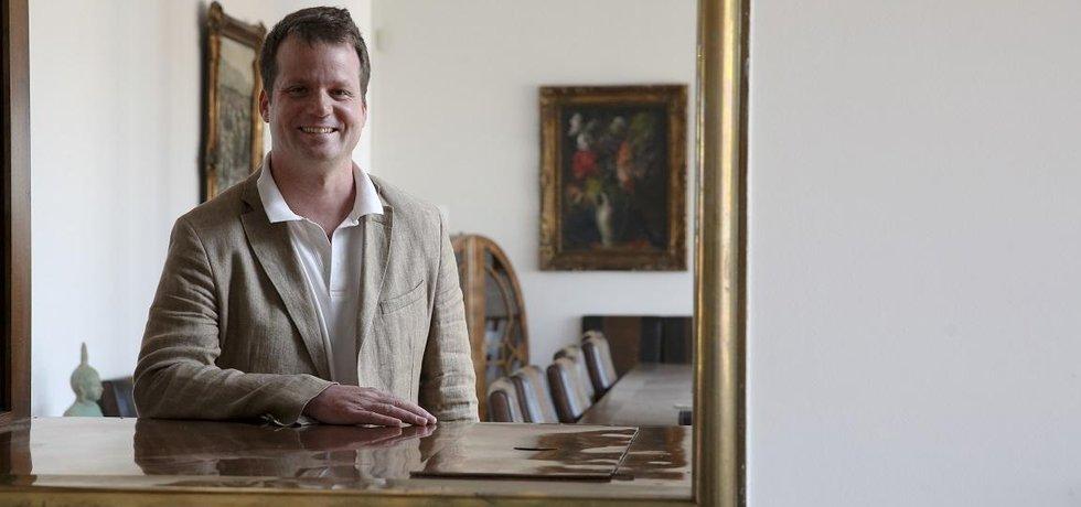 Filip Brodan, šéf firmy Engage Hill