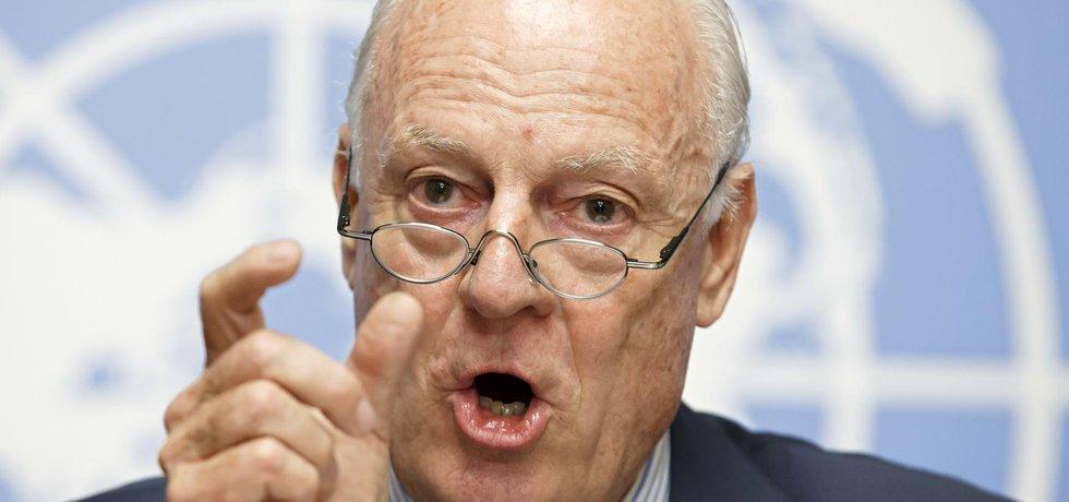 Dlouholetý švédsko-italský diplomat OSN Staffan de Mistura
