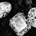 Syntetické diamanty.