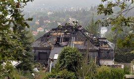 Někdejší Krejčířovu vilu zasáhl požár. Vznikla škoda za pět milionů korun