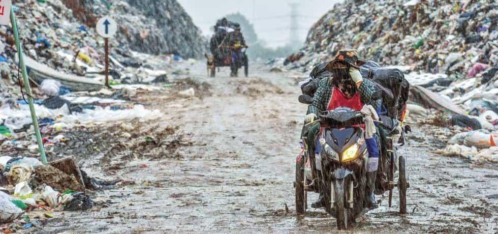 Čtyři pětiny pevného odpadu končí v Indii bez využití na skládkách, země chce zlepšit odpadové hospodářství
