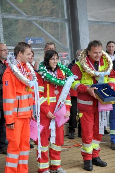 Záchranáři, rallye-rejvíz, záchranná služba