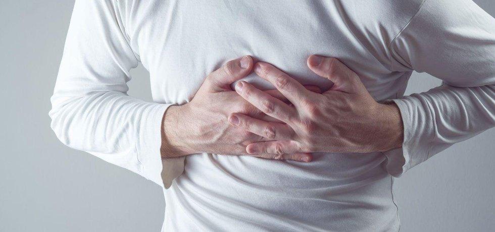 Infarkt myokardu, ilustrační foto