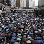 Protesty v Hongkongku jsou největší od roku 1997, kdy se někdejší britská kolonie vrátila pod čínskou správu