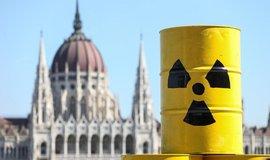 Protijaderný protest v Budapešti, ilustrační foto