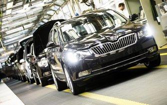 Výroba v automobilce Škoda Auto