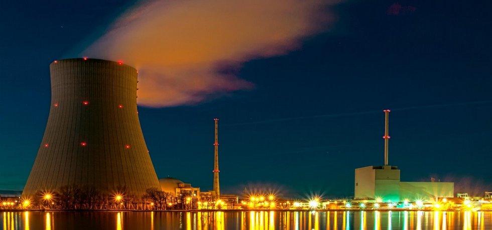 Německá jaderná elektrárna Isar (ilustrační foto)