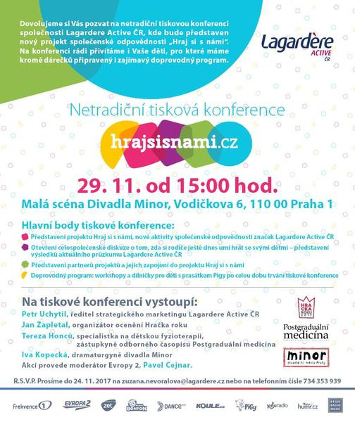 Lagardere Active ČR, Hraj si s námi
