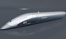 Kapsle Quintero One od společnosti Hyperloop Transportation Technologies